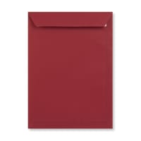 C4 DARK RED PEEL AND SEAL ENVELOPES