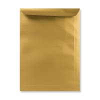 C4 METALLIC GOLD PEEL AND SEAL ENVELOPES 120GSM