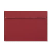 C5 DARK RED PEEL AND SEAL ENVELOPES