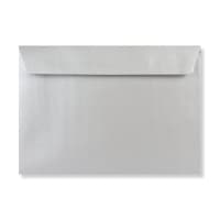 C5 METALLIC SILVER PEEL AND SEAL ENVELOPES 120GSM