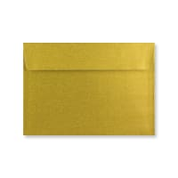 C6 METALLIC GOLD PEEL AND SEAL ENVELOPES 120GSM