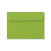 C6 MID GREEN PEEL AND SEAL ENVELOPES