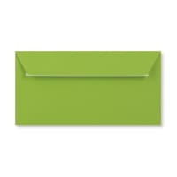 DL MID GREEN PEEL AND SEAL ENVELOPES