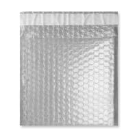 165MM SQUARE GLOSS METALLIC TRANSLUCENT PADDED ENVELOPES