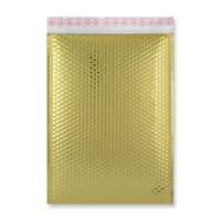 C3 GLOSS METALLIC GOLD PADDED ENVELOPES (450 x 320MM)