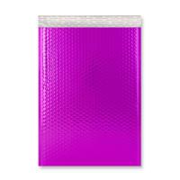 C3 GLOSS METALLIC HOT PINK PADDED ENVELOPES (450 x 320MM)