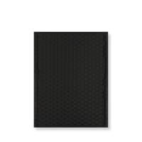 C5 + MATT METALLIC BLACK PADDED ENVELOPES (250 x 180MM)