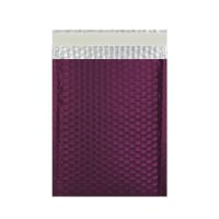C5 + MATT METALLIC BURGUNDY PADDED ENVELOPES (250 x 180MM)