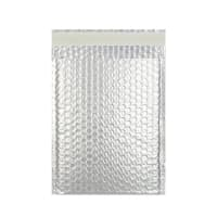C5 + MATT METALLIC SILVER PADDED ENVELOPES (250 x 180MM)