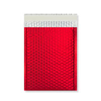 C4 MATT METALLIC RED PADDED ENVELOPES (324 x 230MM)