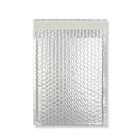 C4 MATT METALLIC SILVER PADDED ENVELOPES (324 x 230MM)