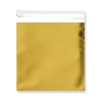 165 x 165MM GOLD MATT FOIL BAGS