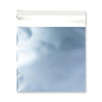 165 x 165MM ICE BLUE MATT FOIL BAGS
