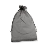 300 x 200mm BLACK ORGANZA BAGS