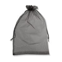 400 x 300mm BLACK ORGANZA BAGS