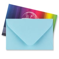 PALE BLUE 62 x 94mm ENVELOPES