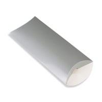 220 x 110 + 35MM DL SILVER PILLOW BOXES