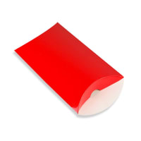 162 x 114 + 35MM C6 RED PILLOW BOXES