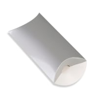 113 x 81 + 30MM C7 SILVER PILLOW BOXES