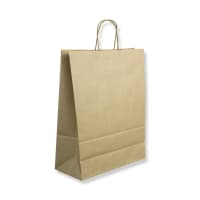 320x140x420mm MANILLA TWIST HANDLED PAPER BAGS