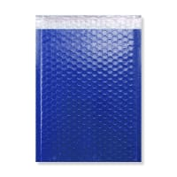 340 x 240mm GLOSS BLUE PADDED BUBBLE ENVELOPES