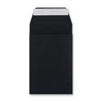 C6 BLACK GUSSET ENVELOPES