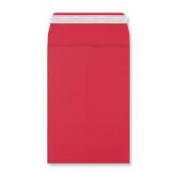 C5 DARK RED GUSSET ENVELOPES