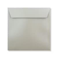 155 x 155MM SILVER PEARLESCENT ENVELOPES