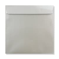 220 x 220 MM SILVER PEARLESCENT ENVELOPES