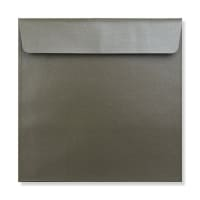 170 x 170MM MEDIUM TAUPE PEARLESCENT ENVELOPES