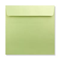 170 x 170MM LIME PEARLESCENT ENVELOPES
