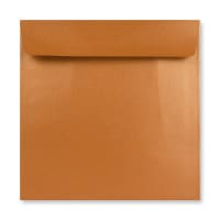 170 x 170MM COPPER PEARLESCENT ENVELOPES
