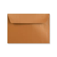 C6 COPPER PEARLESCENT ENVELOPES