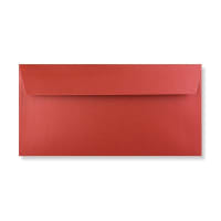DL CARDINAL RED PEARLESCENT ENVELOPES