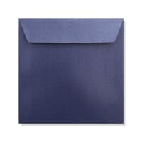 155 x 155MM MIDNIGHT BLUE PEARLESCENT ENVELOPES