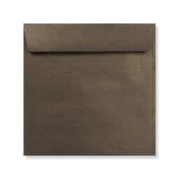 170 x 170MM BRONZE PEARLESCENT ENVELOPES