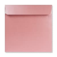 170 x 170MM BABY PINK PEARLESCENT ENVELOPES