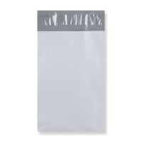 230 x 345 mm WHITE POLYTHENE MAILING BAGS