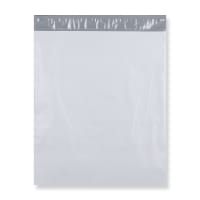 450 x 525 mm White Polythene Mailing Bags