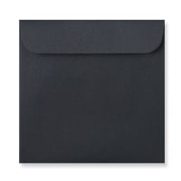 BLACK 126mm SQUARE CD ENVELOPES