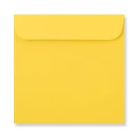 126 x 126mm DARK YELLOW CD ENVELOPES
