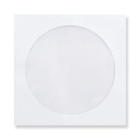 126 x 126mm WHITE CD WINDOW ENVELOPES