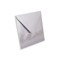 SILVER MIRROR 130mm SQUARE ENVELOPES 120GSM
