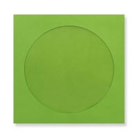 85 x 85mm GREEN MINI CD WINDOW ENVELOPES