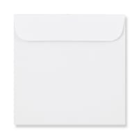 WHITE 85mm SQUARE MINI CD ENVELOPES (NON WINDOW)