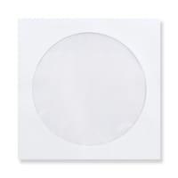 WHITE 85mm SQUARE MINI CD ENVELOPES