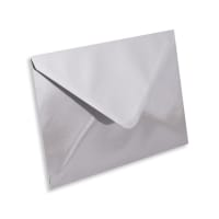 C6 SILVER MIRROR ENVELOPES 120GSM