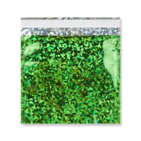 165 x 165MM GREEN HOLOGRAPHIC FOIL BAGS