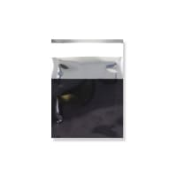 45 x 40MM BLACK GLOSS METALLIC FOIL BAGS
