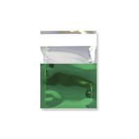 45 x 40MM GREEN GLOSS METALLIC FOIL BAGS